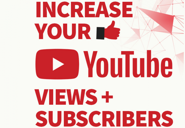 Youtube views, likes and subscribers